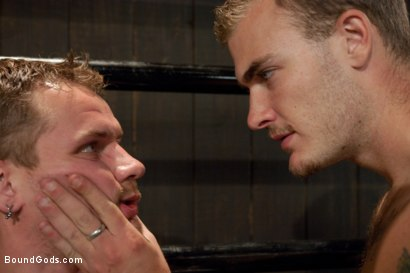 Photo number 1 from Wilde Diesel shot for Bound Gods on Kink.com. Featuring Trent Diesel and Christian Wilde in hardcore BDSM & Fetish porn.