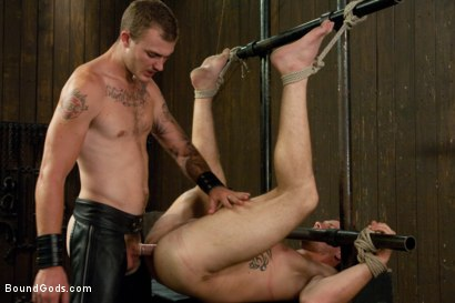 Photo number 12 from Wilde Diesel shot for Bound Gods on Kink.com. Featuring Trent Diesel and Christian Wilde in hardcore BDSM & Fetish porn.