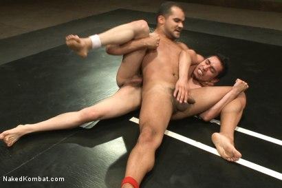 Photo number 9 from Leo Lust vs Tony Vega shot for Naked Kombat on Kink.com. Featuring Tony Vega and Leo Lust in hardcore BDSM & Fetish porn.
