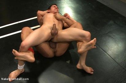 Photo number 5 from Leo Lust vs Tony Vega shot for Naked Kombat on Kink.com. Featuring Tony Vega and Leo Lust in hardcore BDSM & Fetish porn.