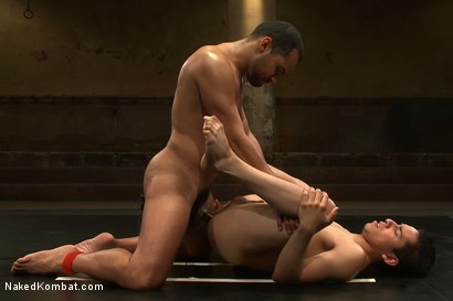 Photo number 12 from Leo Lust vs Tony Vega shot for Naked Kombat on Kink.com. Featuring Tony Vega and Leo Lust in hardcore BDSM & Fetish porn.