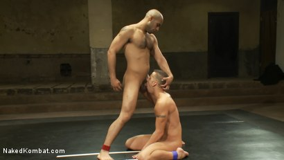 Photo number 12 from Leo Forte vs Shane Frost shot for Naked Kombat on Kink.com. Featuring Shane Frost and Leo Forte in hardcore BDSM & Fetish porn.
