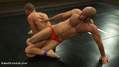 Photo number 22 from Leo Forte vs Shane Frost shot for Naked Kombat on Kink.com. Featuring Shane Frost and Leo Forte in hardcore BDSM & Fetish porn.