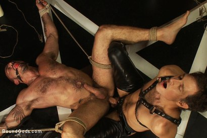 Photo number 12 from My Master's Master - Halloween Update shot for Bound Gods on Kink.com. Featuring Alessio Romero and Master Avery in hardcore BDSM & Fetish porn.