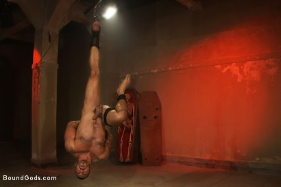Photo number 9 from My Master's Master - Halloween Update shot for Bound Gods on Kink.com. Featuring Alessio Romero and Master Avery in hardcore BDSM & Fetish porn.