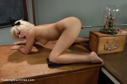 Photo number 7 from Punishment in the USA shot for Fucking Machines on Kink.com. Featuring Kelly Surfer in hardcore BDSM & Fetish porn.