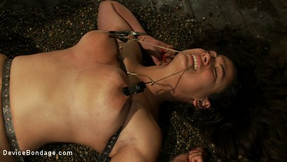 Photo number 7 from Double-Teamed On The Rocks shot for Device Bondage on Kink.com. Featuring Dana Vixen in hardcore BDSM & Fetish porn.