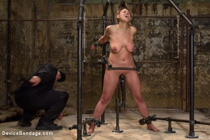 Photo number 14 from Covered in Drool and Can't Stop Cumming shot for Device Bondage on Kink.com. Featuring Dana Vixen in hardcore BDSM & Fetish porn.