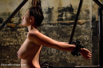 Photo number 4 from Covered in Drool and Can't Stop Cumming shot for Device Bondage on Kink.com. Featuring Dana Vixen in hardcore BDSM & Fetish porn.