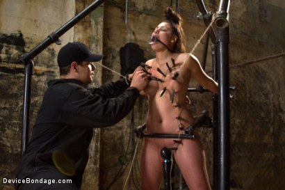 Photo number 10 from Covered in Drool and Can't Stop Cumming shot for Device Bondage on Kink.com. Featuring Dana Vixen in hardcore BDSM & Fetish porn.