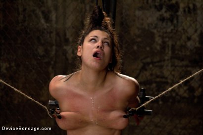 Photo number 11 from Covered in Drool and Can't Stop Cumming shot for Device Bondage on Kink.com. Featuring Dana Vixen in hardcore BDSM & Fetish porn.