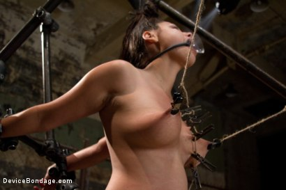 Photo number 8 from Covered in Drool and Can't Stop Cumming shot for Device Bondage on Kink.com. Featuring Dana Vixen in hardcore BDSM & Fetish porn.