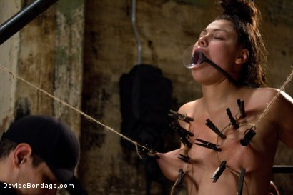 Photo number 9 from Covered in Drool and Can't Stop Cumming shot for Device Bondage on Kink.com. Featuring Dana Vixen in hardcore BDSM & Fetish porn.
