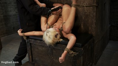 Photo number 12 from Fresh girl from Down Under suffers some hard foot caning   One brutal squirting orgasm after anoth shot for Hogtied on Kink.com. Featuring Kelly Surfer in hardcore BDSM & Fetish porn.
