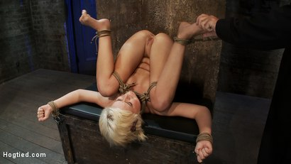 Photo number 13 from Fresh girl from Down Under suffers some hard foot caning <br>One brutal squirting orgasm after anoth shot for Hogtied on Kink.com. Featuring Kelly Surfer in hardcore BDSM & Fetish porn.