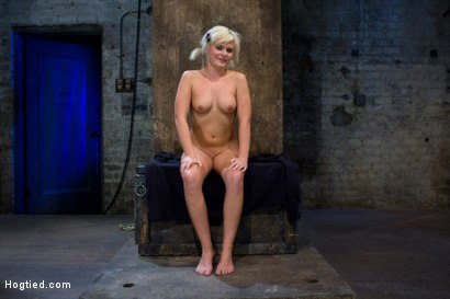 Photo number 15 from Fresh girl from Down Under suffers some hard foot caning <br>One brutal squirting orgasm after anoth shot for Hogtied on Kink.com. Featuring Kelly Surfer in hardcore BDSM & Fetish porn.