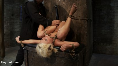 Photo number 8 from Fresh girl from Down Under suffers some hard foot caning <br>One brutal squirting orgasm after anoth shot for Hogtied on Kink.com. Featuring Kelly Surfer in hardcore BDSM & Fetish porn.