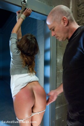 Photo number 4 from Defiant Bound Slut shot for Sex And Submission on Kink.com. Featuring Mark Davis and Allie Haze in hardcore BDSM & Fetish porn.