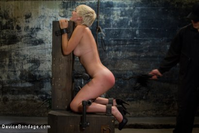 Photo number 3 from The Stuff Dreams Are Made Of shot for Device Bondage on Kink.com. Featuring Chloe Camilla in hardcore BDSM & Fetish porn.