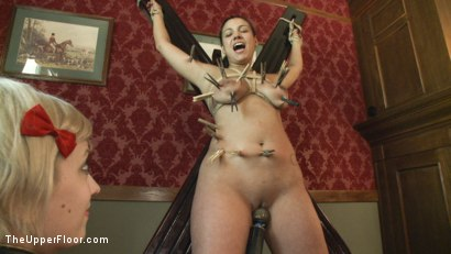 Photo number 6 from Freshmeat Monday on The Upper Floor with Dana Vixen shot for The Upper Floor on Kink.com. Featuring Dana Vixen and Cherry Torn in hardcore BDSM & Fetish porn.