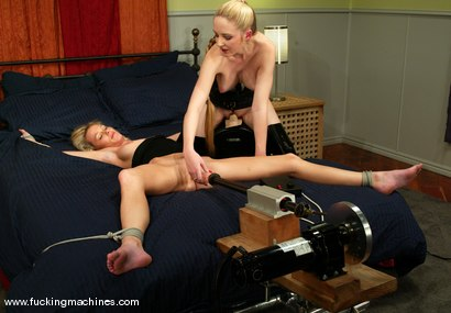 Photo number 3 from Phoenix and Chanta-Rose shot for Fucking Machines on Kink.com. Featuring Phoenix and Chanta-Rose in hardcore BDSM & Fetish porn.