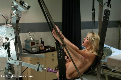 Photo number 8 from Daisy Dukes vs. Fuckzilla <br> Machine fucking a rookie Blond shot for Fucking Machines on Kink.com. Featuring Sarah Jaymes in hardcore BDSM & Fetish porn.