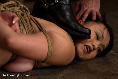 Photo number 4 from Madeleine Day 4 shot for The Training Of O on Kink.com. Featuring Madeleine Mei and Wolf Hudson in hardcore BDSM & Fetish porn.