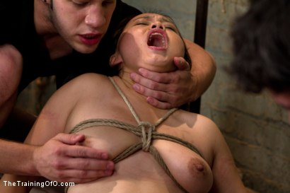 Photo number 7 from Madeleine Day 4 shot for The Training Of O on Kink.com. Featuring Madeleine Mei and Wolf Hudson in hardcore BDSM & Fetish porn.