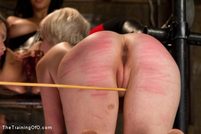 Photo number 11 from Madeline's 3rd Day of Training shot for The Training Of O on Kink.com. Featuring Madeleine Mei, Isis Love and Cherry Torn in hardcore BDSM & Fetish porn.