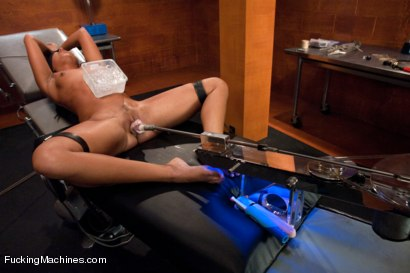 Photo number 14 from The Amateur Swims in the Deep End of the Kinky Pool shot for Fucking Machines on Kink.com. Featuring Alexa Jaymes in hardcore BDSM & Fetish porn.