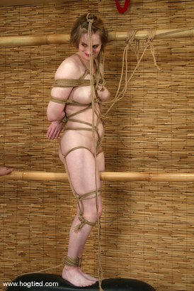 Photo number 6 from Tracey Hilton shot for Hogtied on Kink.com. Featuring Tracey Hilton in hardcore BDSM & Fetish porn.