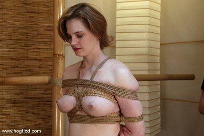 Photo number 1 from Tracey Hilton shot for Hogtied on Kink.com. Featuring Tracey Hilton in hardcore BDSM & Fetish porn.