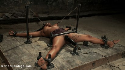 Photo number 11 from Who Doesn't Love a Challenge? shot for Device Bondage on Kink.com. Featuring Mia Stiletto in hardcore BDSM & Fetish porn.