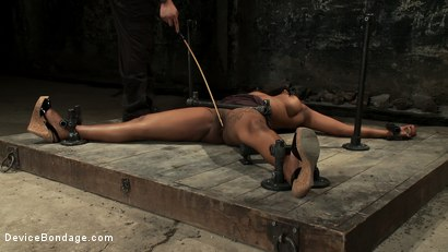 Photo number 7 from Who Doesn't Love a Challenge? shot for Device Bondage on Kink.com. Featuring Mia Stiletto in hardcore BDSM & Fetish porn.