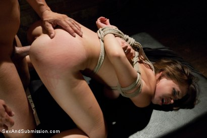 Photo number 7 from The Bondage Virgin shot for Sex And Submission on Kink.com. Featuring Tiffany Star and Derrick Pierce in hardcore BDSM & Fetish porn.