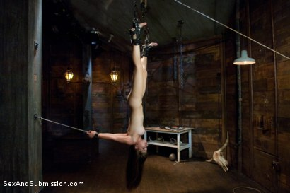 Photo number 9 from The Bondage Virgin shot for Sex And Submission on Kink.com. Featuring Tiffany Star and Derrick Pierce in hardcore BDSM & Fetish porn.