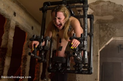Photo number 7 from This Little Piggy Can Fly shot for Device Bondage on Kink.com. Featuring Jessie Cox in hardcore BDSM & Fetish porn.