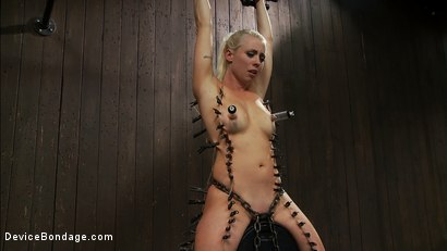Photo number 8 from Lorelei is put on a Sybian, quadruple-zippered and made to cum so much <br>she begs for it to stop. shot for Device Bondage on Kink.com. Featuring Lorelei Lee, Isis Love and James Deen in hardcore BDSM & Fetish porn.