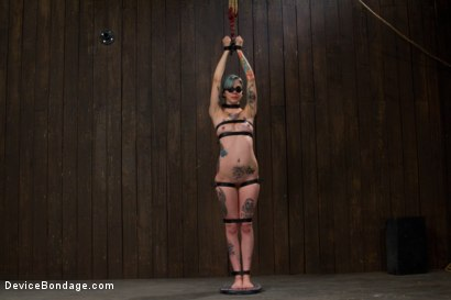 Photo number 1 from Warning: Brutal Play <br> This Scene Involves Intense Pain Play shot for Device Bondage on Kink.com. Featuring Krysta Kaos in hardcore BDSM & Fetish porn.