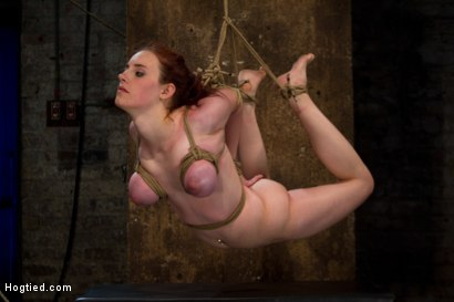 Photo number 6 from Hot 19 yr old suffers a category 5 Hogtied suspension. <br> Isis Love makes her cum over and over  shot for Hogtied on Kink.com. Featuring Iona Grace and Isis Love in hardcore BDSM & Fetish porn.