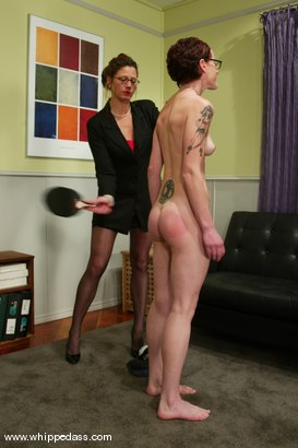Photo number 2 from Nina and Kym Wilde shot for Whipped Ass on Kink.com. Featuring Nina and Kym Wilde in hardcore BDSM & Fetish porn.