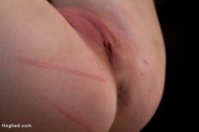 Photo number 9 from Blond with killer natural body, is suspended, suffers intense foot caning   Made to cum over & over shot for Hogtied on Kink.com. Featuring Cherry Torn in hardcore BDSM & Fetish porn.