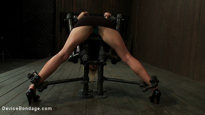 Photo number 3 from I Wonder What Other Noises You Make shot for Device Bondage on Kink.com. Featuring Tati Russo in hardcore BDSM & Fetish porn.