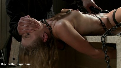 Photo number 8 from Curiosity Wrecked the Pretty Girl shot for Device Bondage on Kink.com. Featuring Tati Russo in hardcore BDSM & Fetish porn.