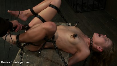 Photo number 14 from Curiosity Wrecked the Pretty Girl shot for Device Bondage on Kink.com. Featuring Tati Russo in hardcore BDSM & Fetish porn.