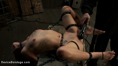 Photo number 7 from Curiosity Wrecked the Pretty Girl shot for Device Bondage on Kink.com. Featuring Tati Russo in hardcore BDSM & Fetish porn.