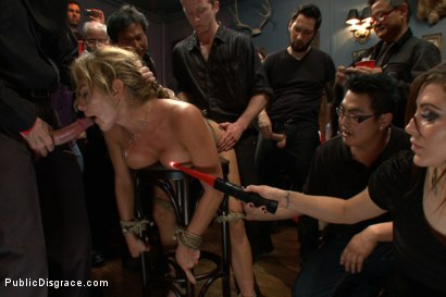 Photo number 13 from The Destruction of Felony shot for Public Disgrace on Kink.com. Featuring Tommy Pistol and Felony in hardcore BDSM & Fetish porn.