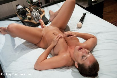 Photo number 15 from Roof Top Machine Fucking of The California Dream Girl Makes Her Squirt shot for Fucking Machines on Kink.com. Featuring Beverly Hills in hardcore BDSM & Fetish porn.