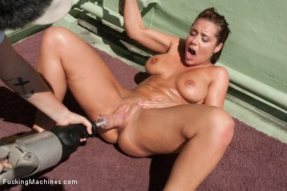 Photo number 12 from Roof Top Machine Fucking of The California Dream Girl Makes Her Squirt shot for Fucking Machines on Kink.com. Featuring Beverly Hills in hardcore BDSM & Fetish porn.