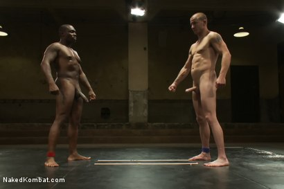 Photo number 15 from Jack Hammer vs Brenn Wyson - The Rematch shot for Naked Kombat on Kink.com. Featuring Brenn Wyson and Jack Hammer in hardcore BDSM & Fetish porn.